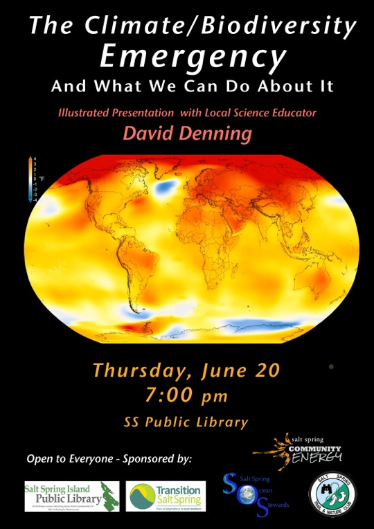 June 20 Climate Action Talk